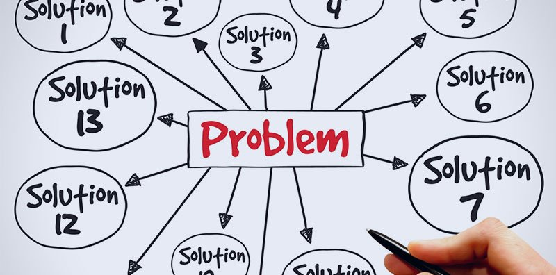 problem pointing to solutions